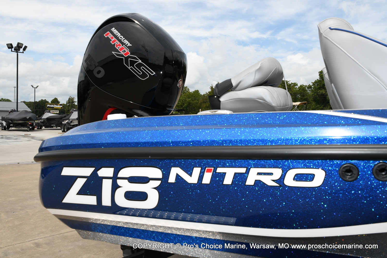 2021 Nitro boat for sale, model of the boat is Z18 & Image # 15 of 50