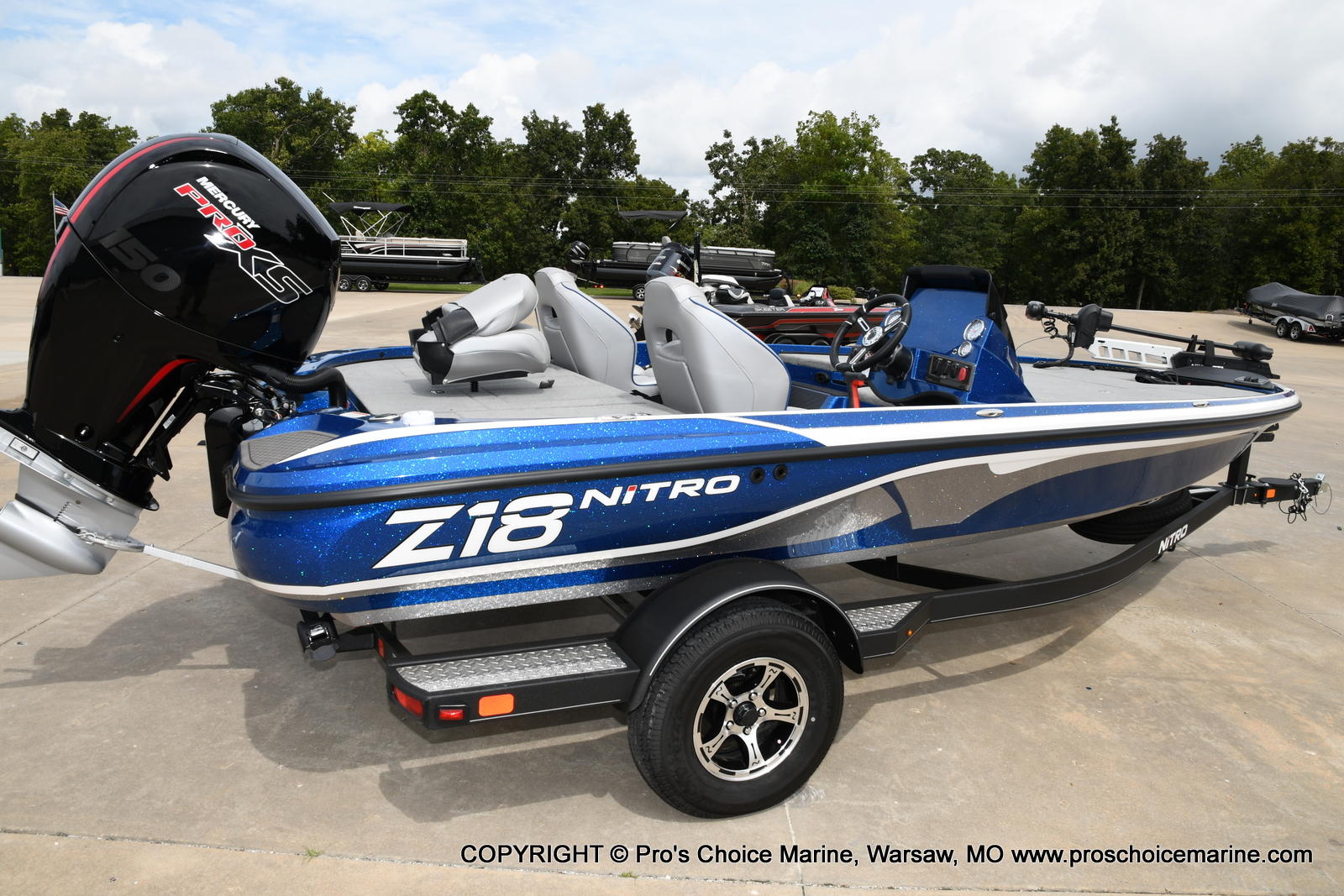 2021 Nitro boat for sale, model of the boat is Z18 & Image # 16 of 50