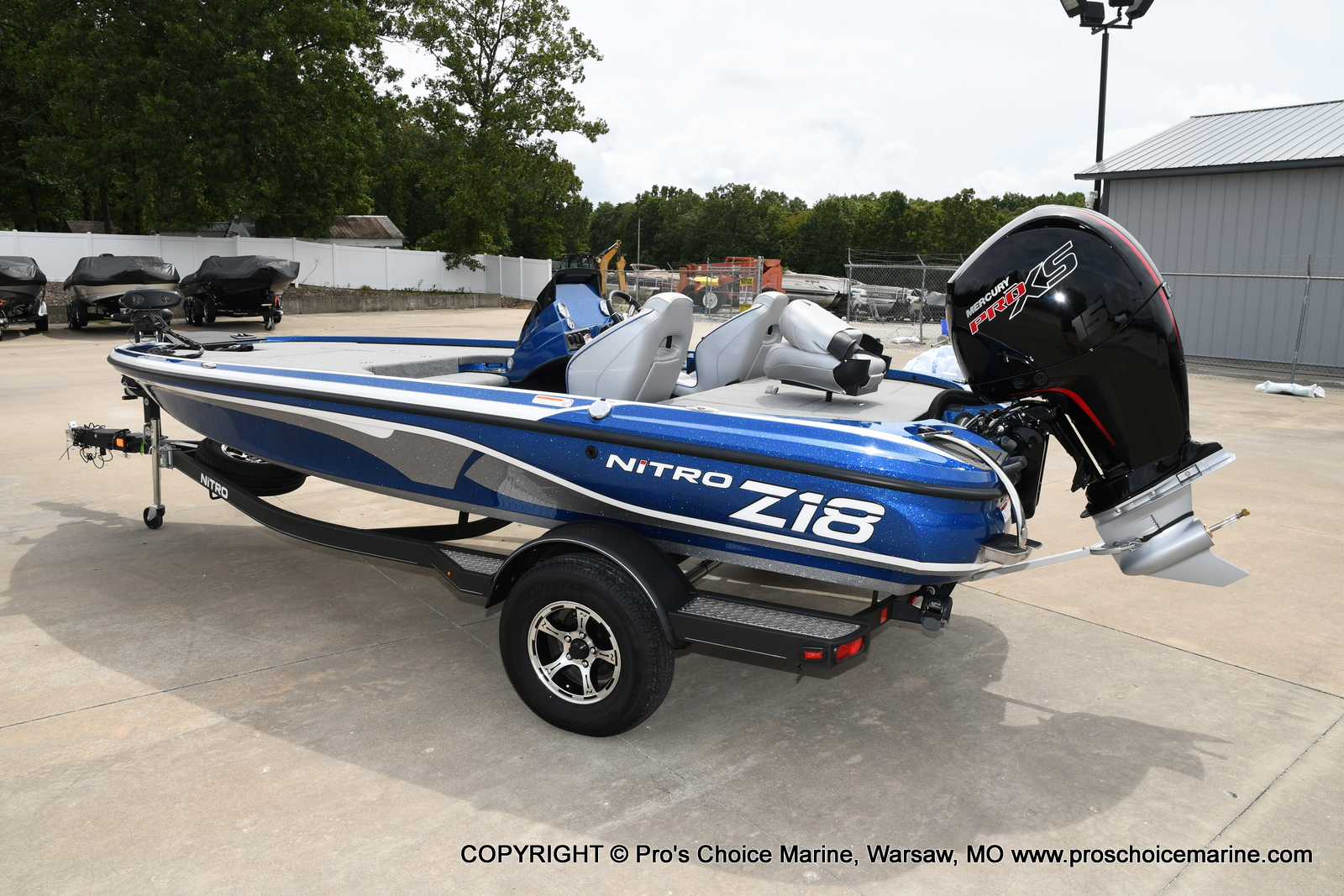 2021 Nitro boat for sale, model of the boat is Z18 & Image # 18 of 50