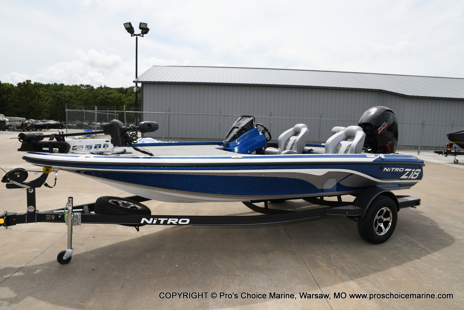 2021 Nitro boat for sale, model of the boat is Z18 & Image # 19 of 50