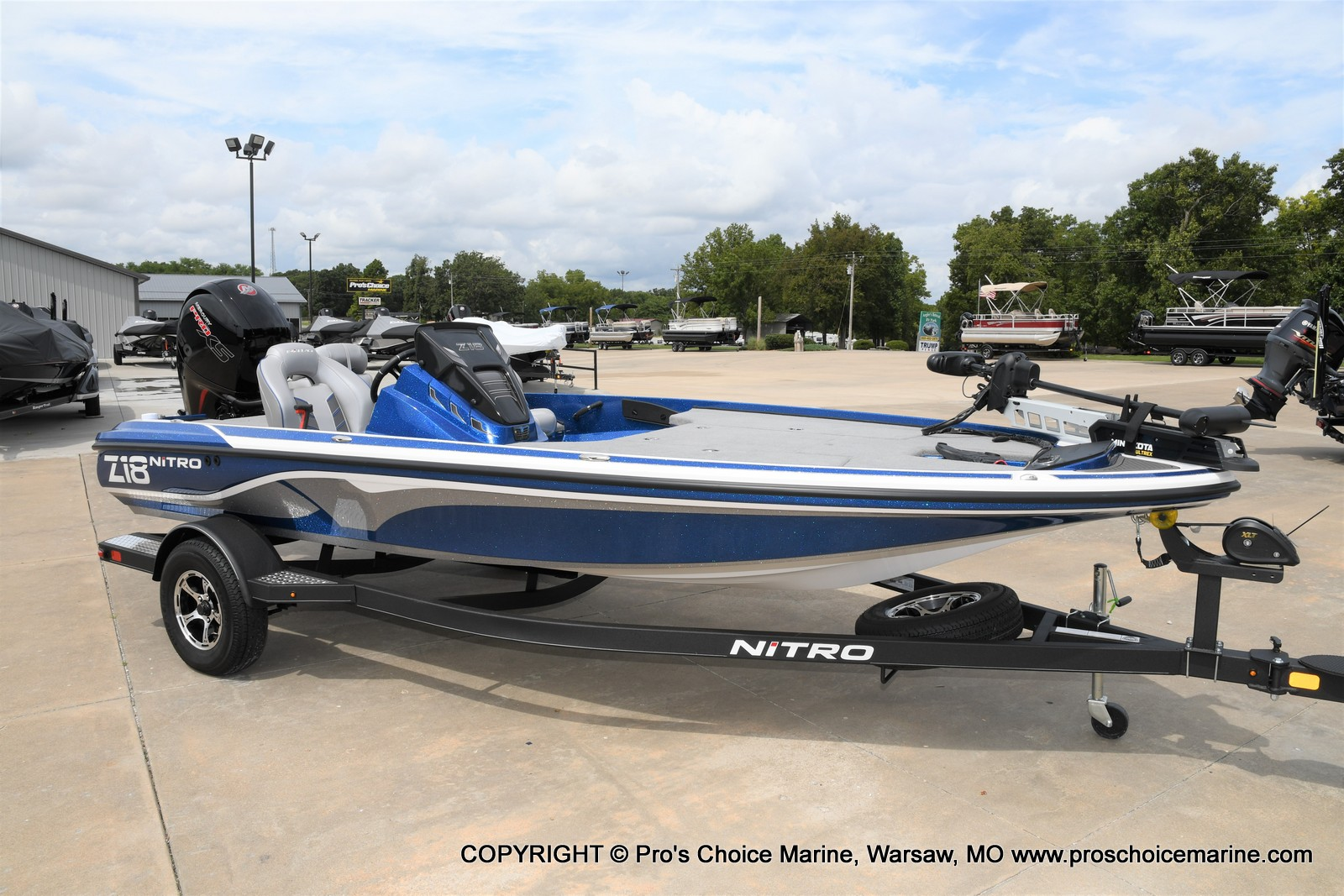 2021 Nitro boat for sale, model of the boat is Z18 & Image # 35 of 50