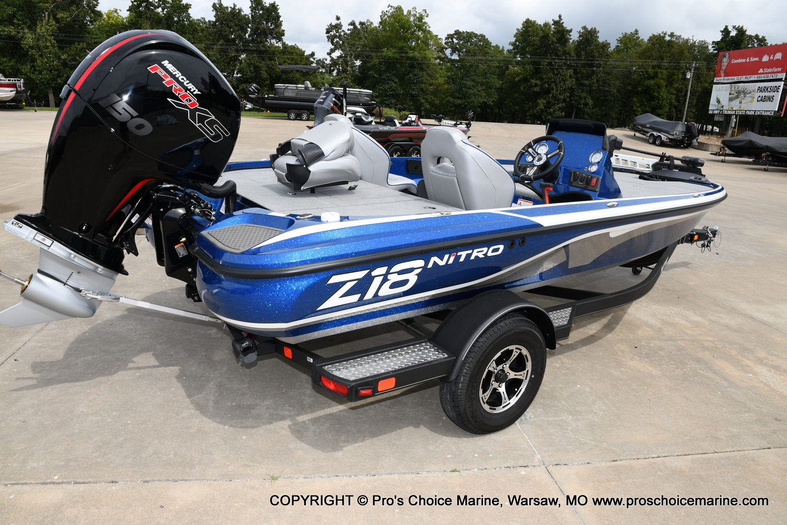 2021 Nitro boat for sale, model of the boat is Z18 & Image # 36 of 50