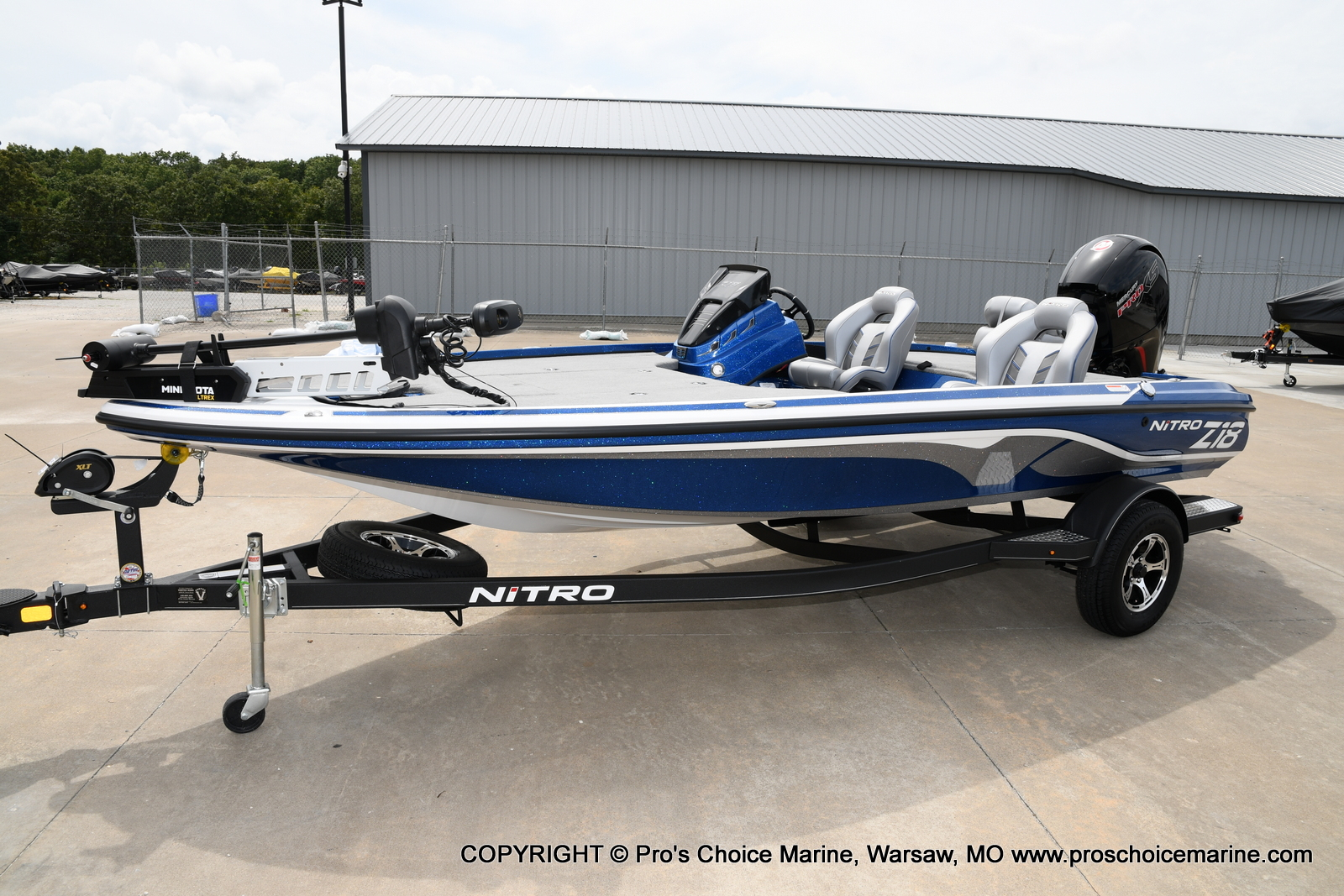 2021 Nitro boat for sale, model of the boat is Z18 & Image # 37 of 50