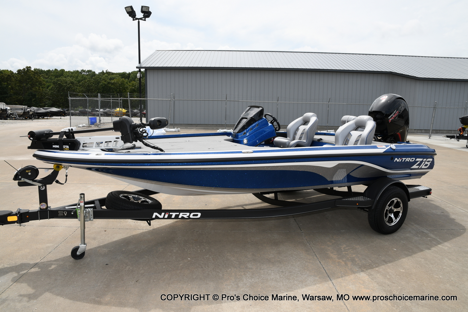 2021 Nitro boat for sale, model of the boat is Z18 & Image # 38 of 50