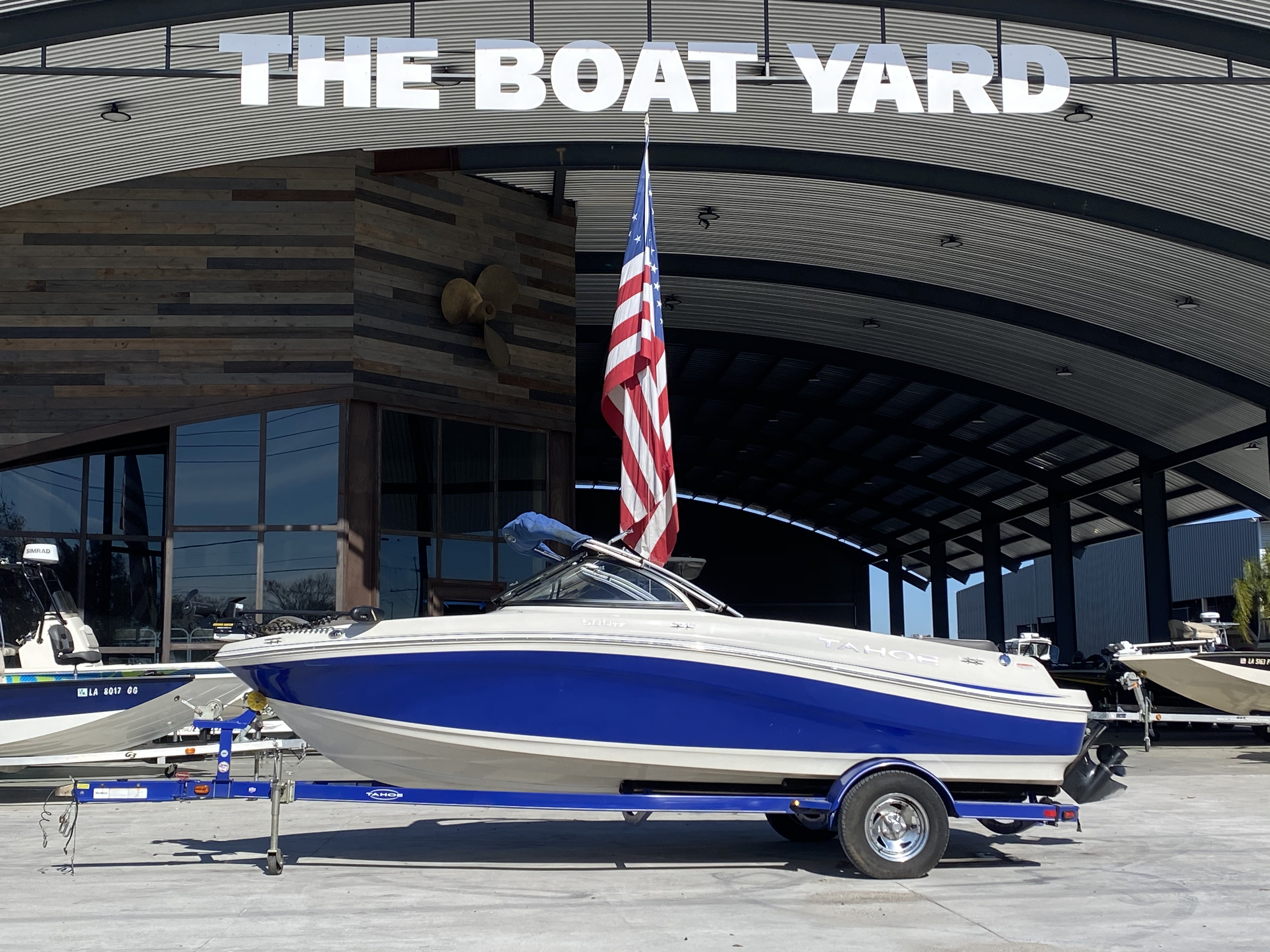 2015 Tahoe boat for sale, model of the boat is 500 TF & Image # 1 of 12