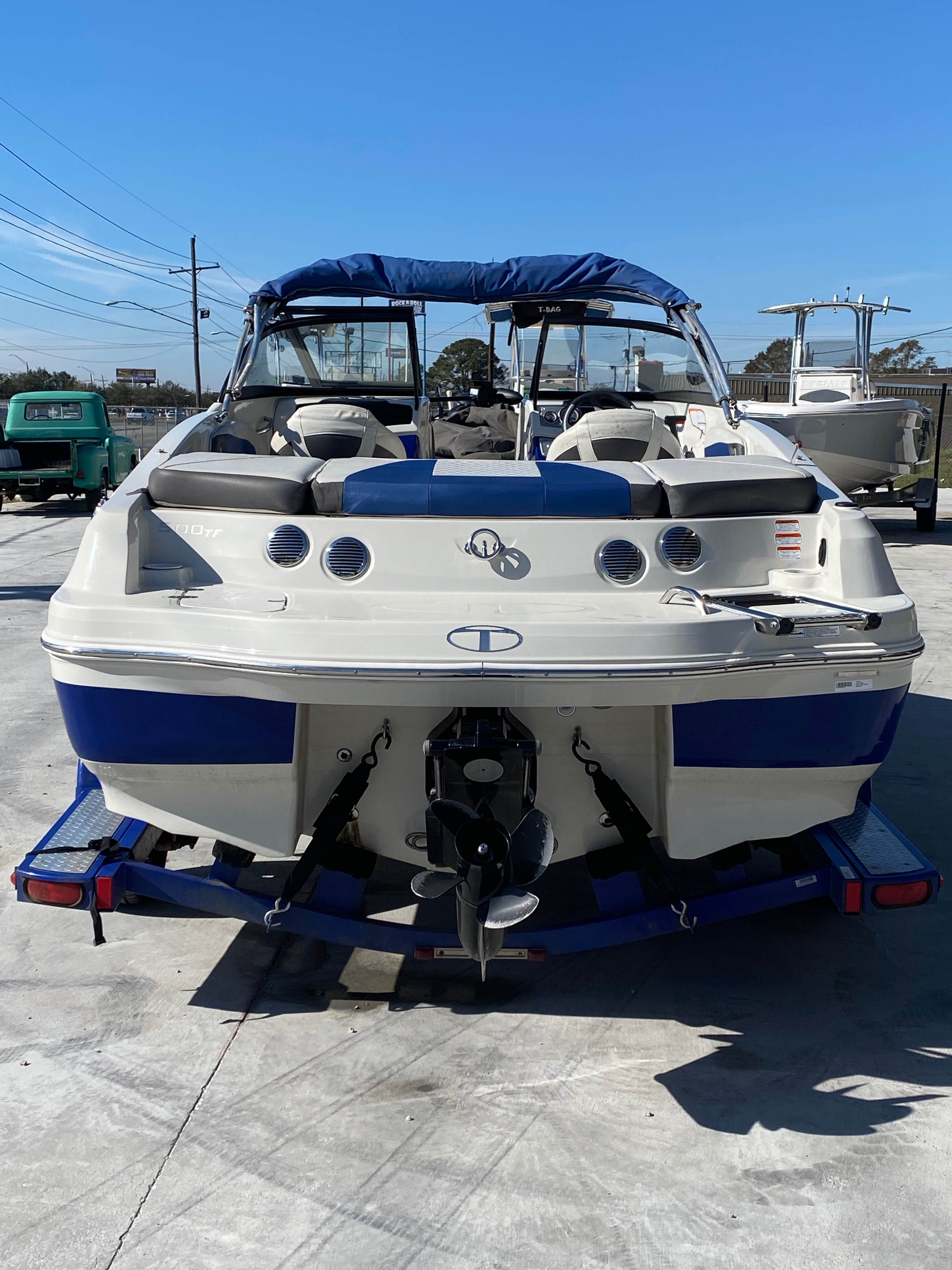 2015 Tahoe boat for sale, model of the boat is 500 TF & Image # 2 of 12