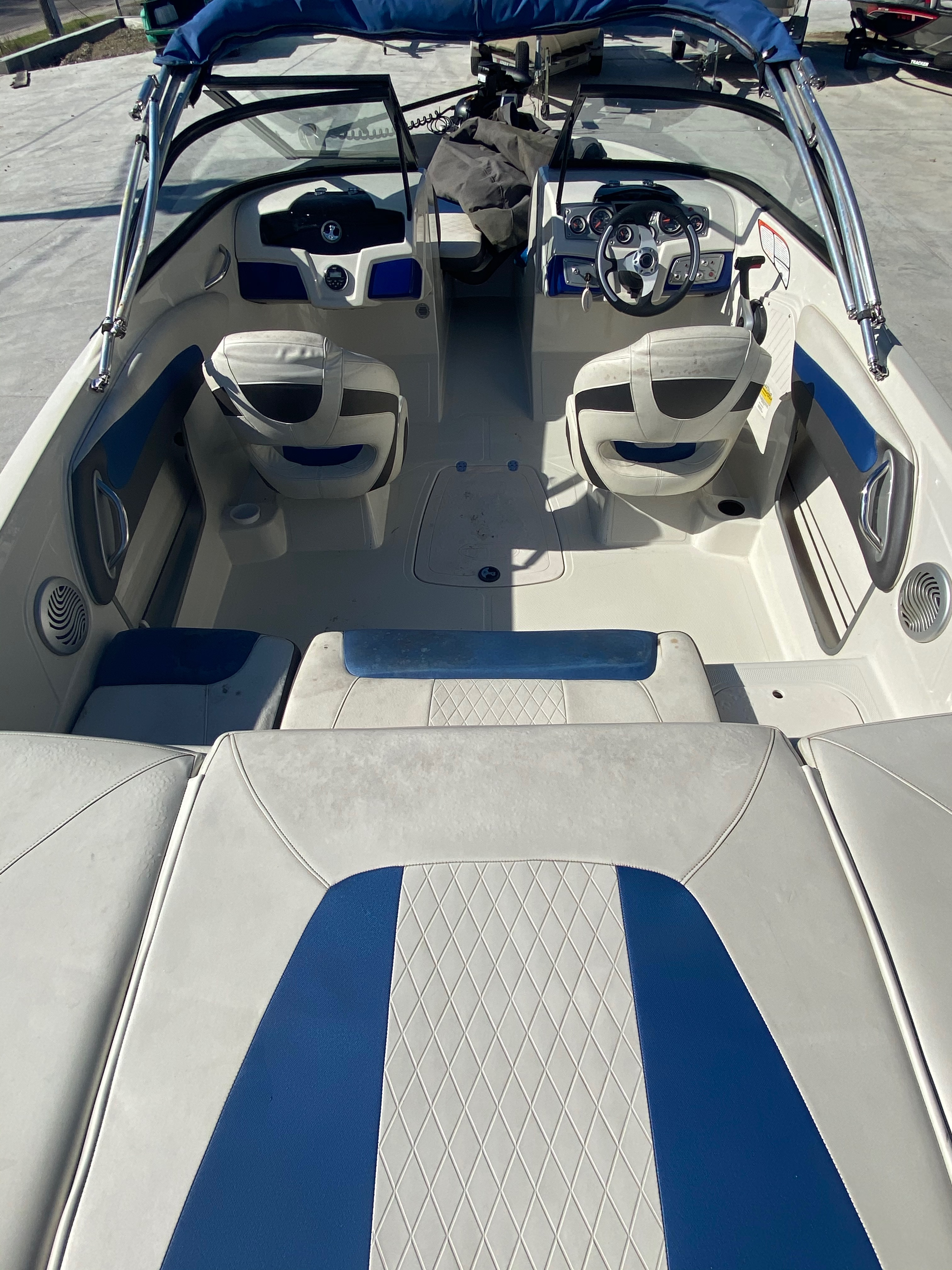 2015 Tahoe boat for sale, model of the boat is 500 TF & Image # 5 of 12