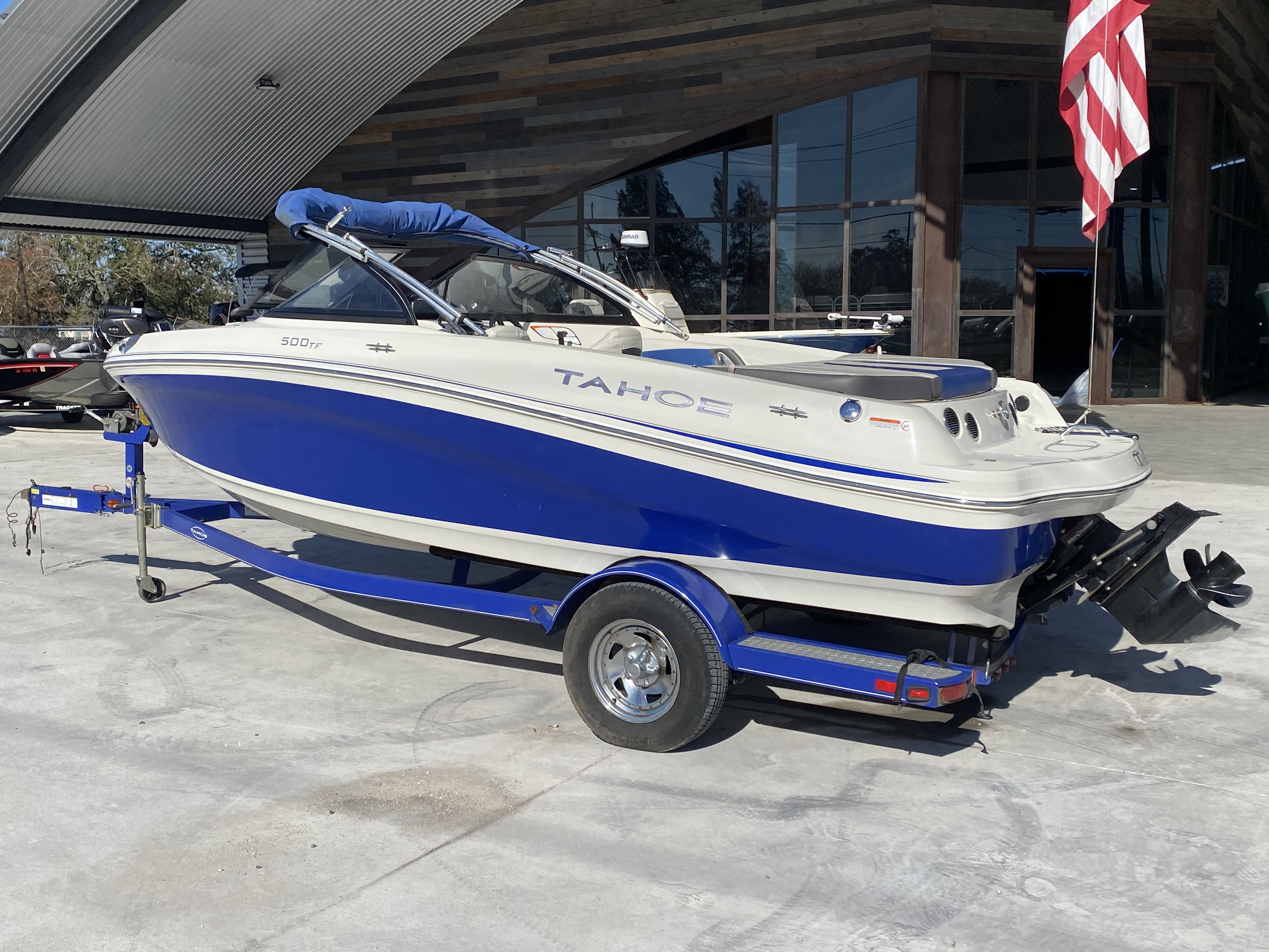 2015 Tahoe boat for sale, model of the boat is 500 TF & Image # 9 of 12
