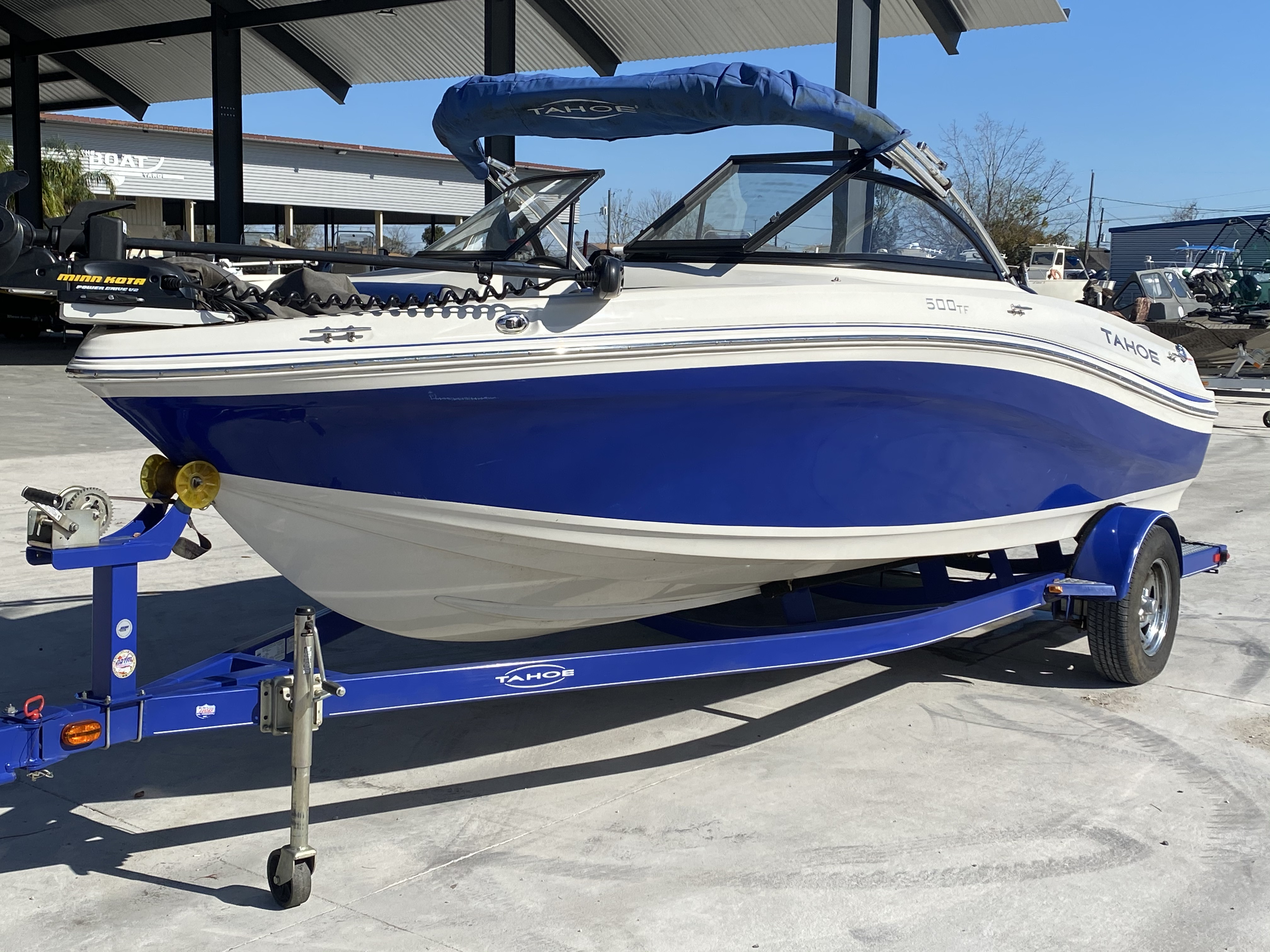 2015 Tahoe boat for sale, model of the boat is 500 TF & Image # 10 of 12