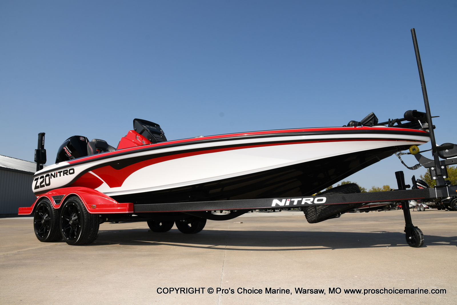 2021 Nitro boat for sale, model of the boat is Z20 PRO PACKAGE & Image # 1 of 50