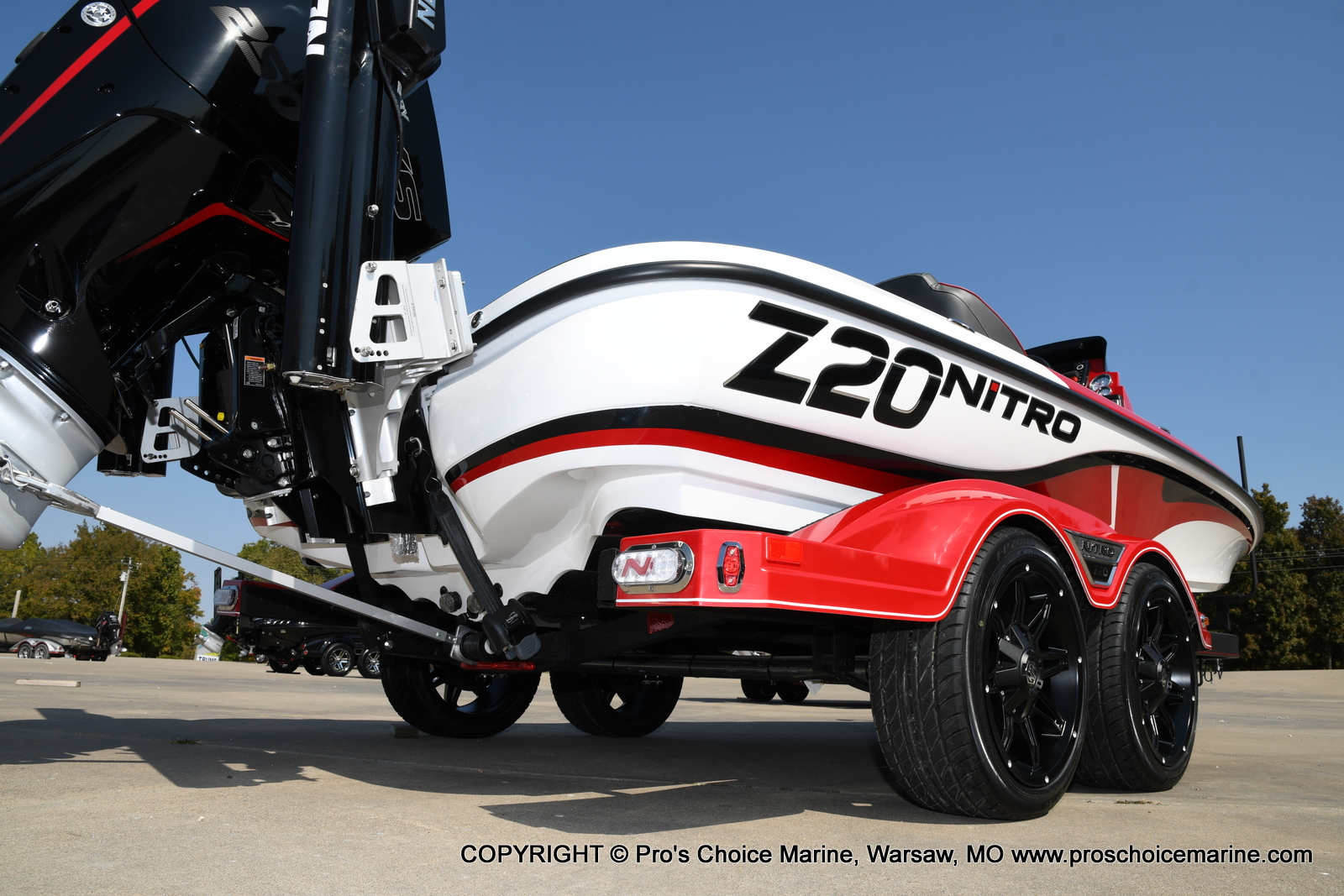 2021 Nitro boat for sale, model of the boat is Z20 PRO PACKAGE & Image # 11 of 50
