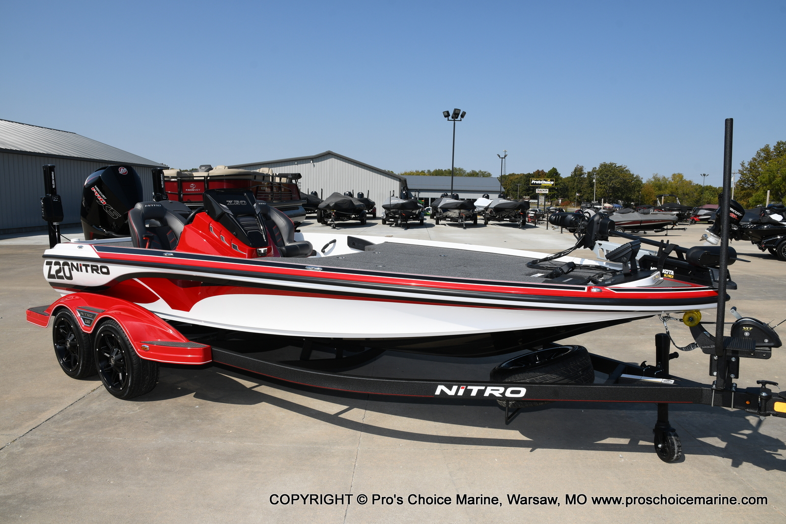 2021 Nitro boat for sale, model of the boat is Z20 PRO PACKAGE & Image # 49 of 50