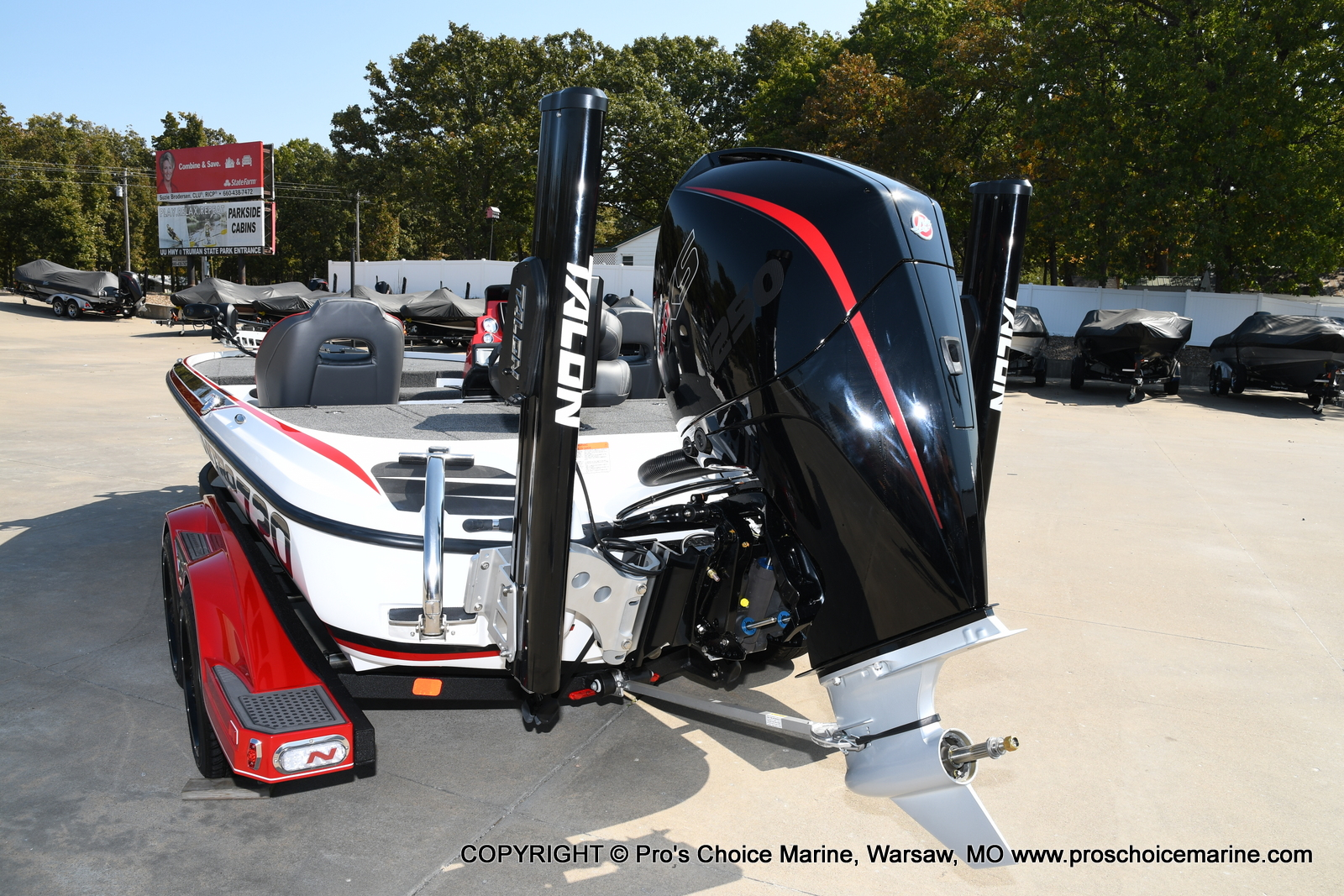 2021 Nitro boat for sale, model of the boat is Z20 PRO PACKAGE & Image # 26 of 50