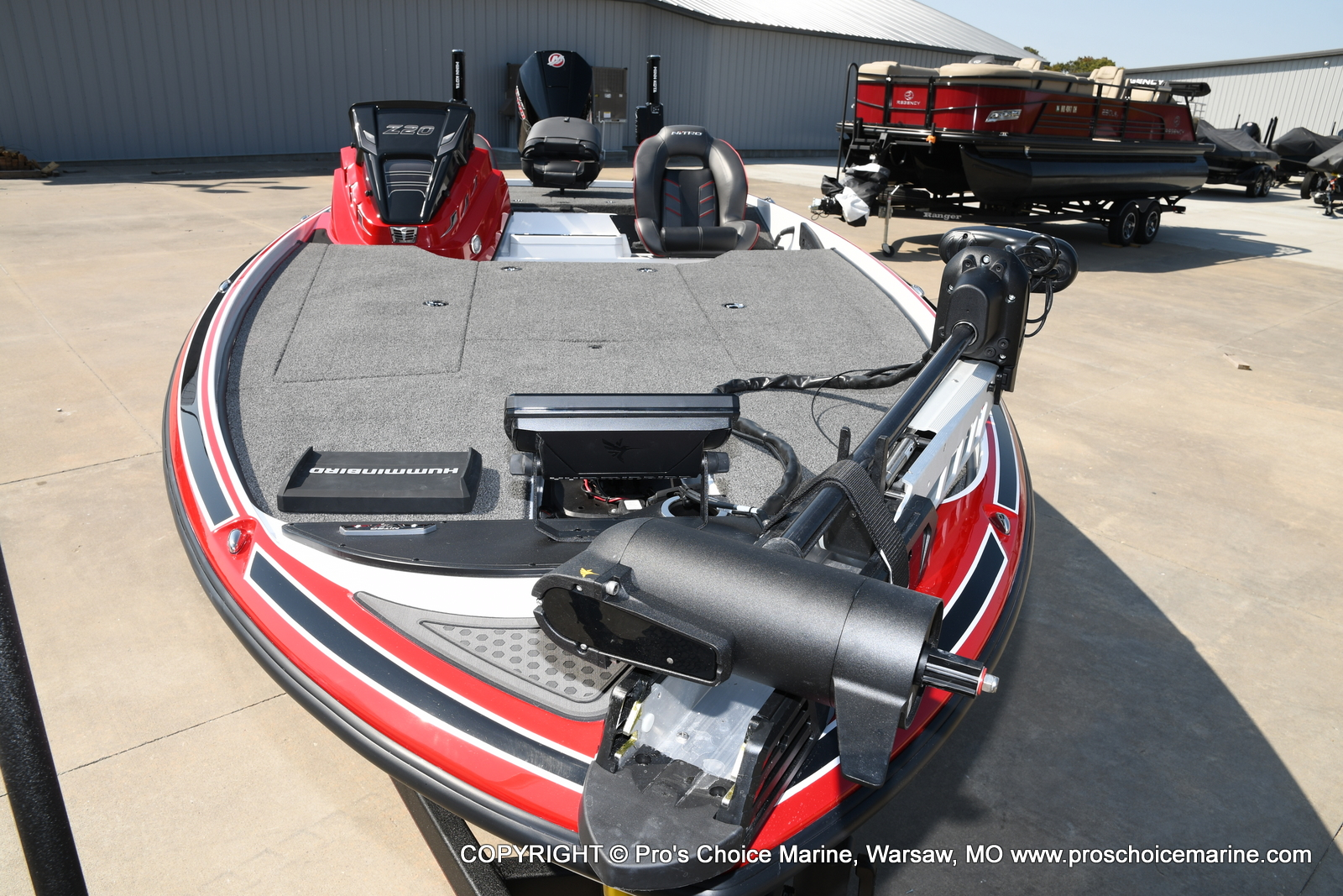 2021 Nitro boat for sale, model of the boat is Z20 PRO PACKAGE & Image # 28 of 50