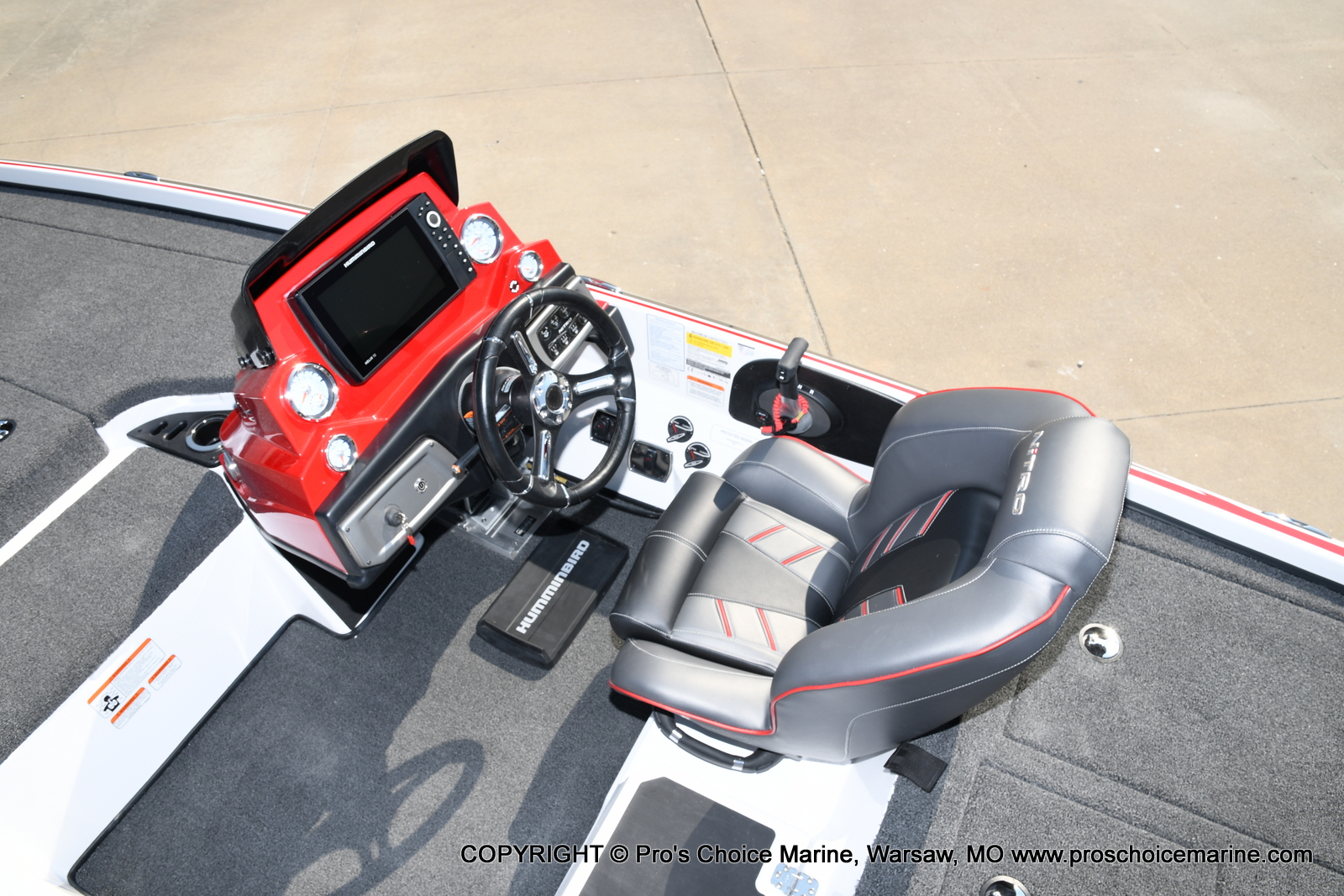 2021 Nitro boat for sale, model of the boat is Z20 PRO PACKAGE & Image # 31 of 50