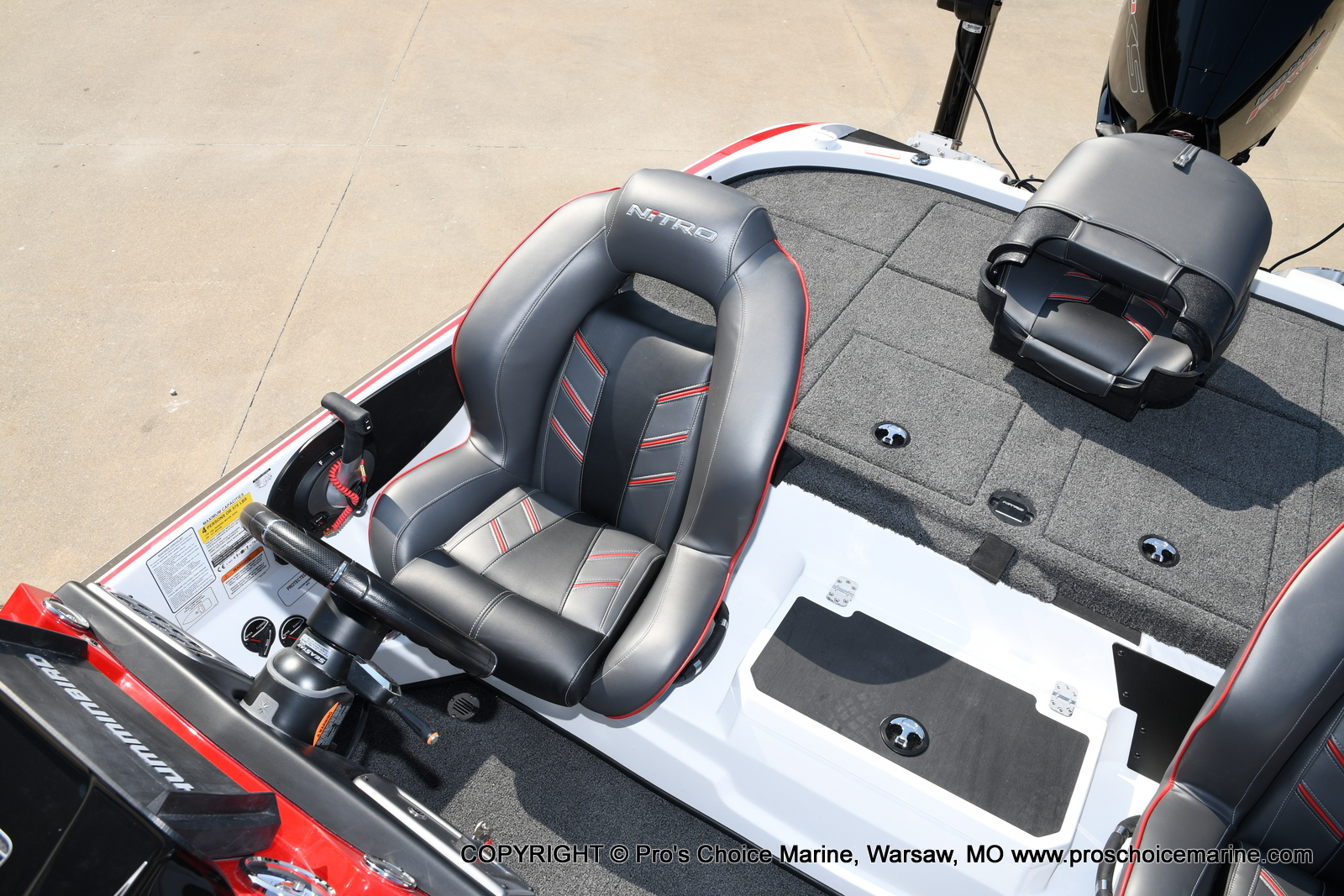 2021 Nitro boat for sale, model of the boat is Z20 PRO PACKAGE & Image # 37 of 50