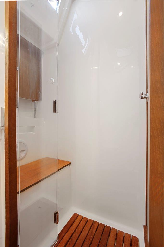 Port aft shower