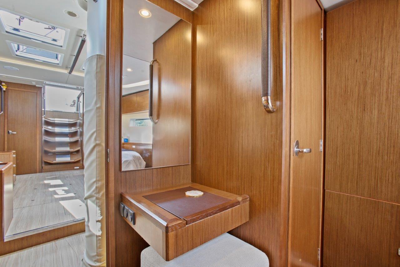 Forward Cabin seating area