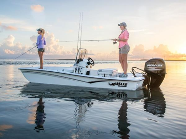 2021 Mako boat for sale, model of the boat is PRO SKIFF 15 CC & Image # 1 of 1