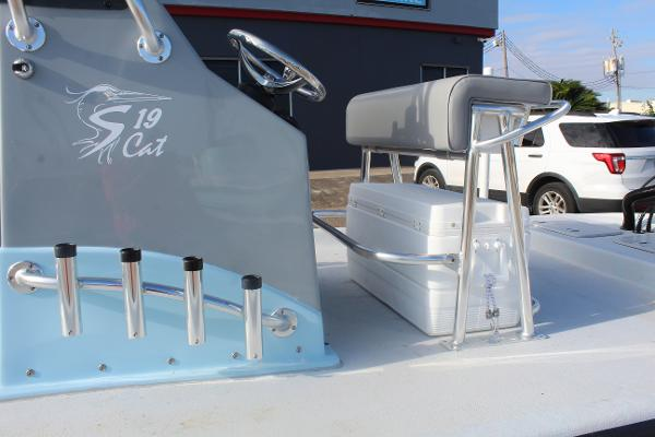 2021 Shoalwater boat for sale, model of the boat is 19 CAT & Image # 12 of 15