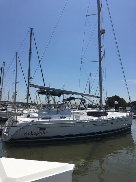 Kokopelli at the dock
