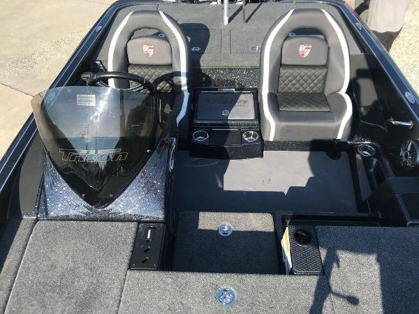 2021 Triton boat for sale, model of the boat is 18 TRX & Image # 14 of 15