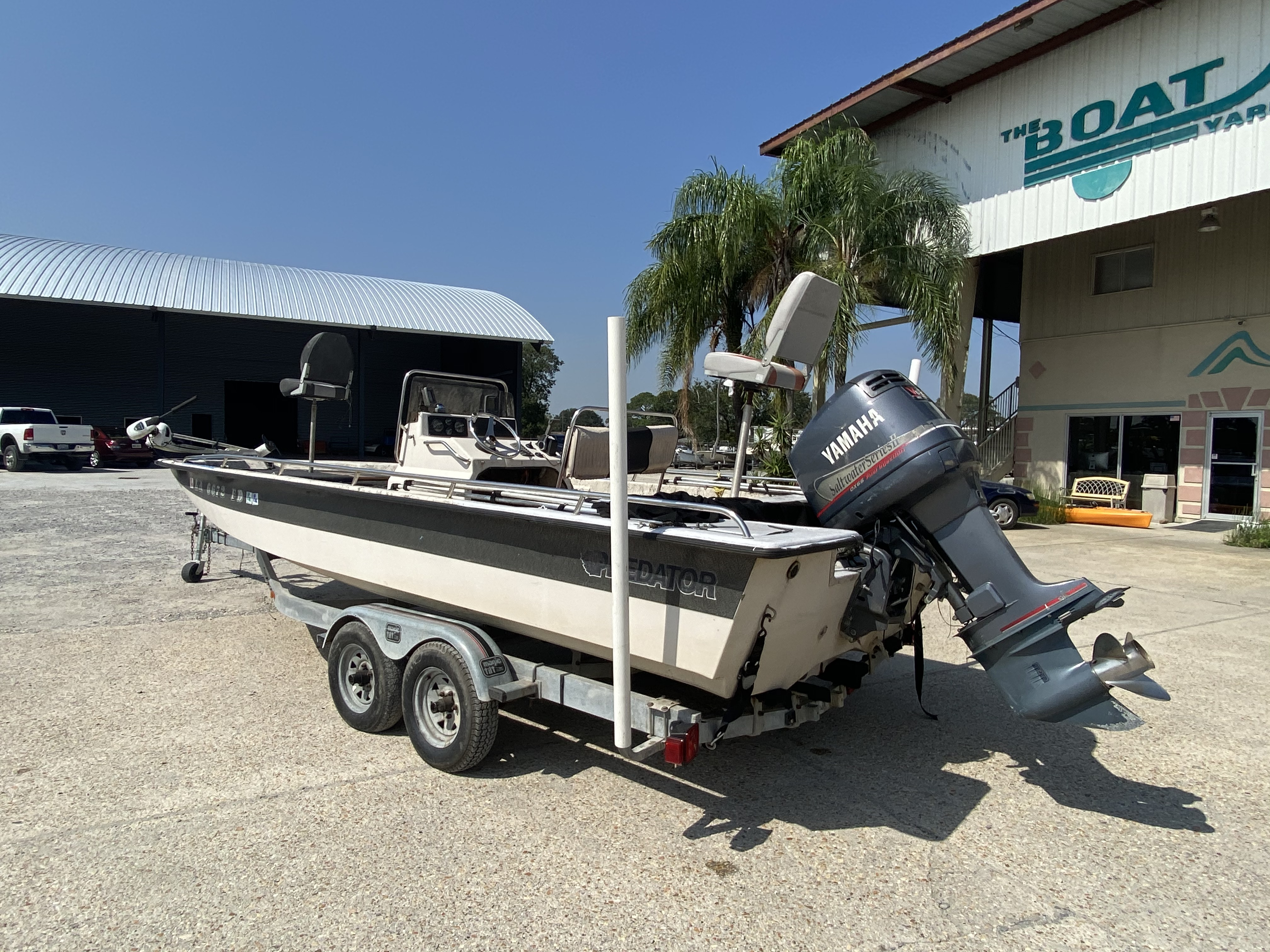 1999 Predator boat for sale, model of the boat is 22 CC & Image # 2 of 12