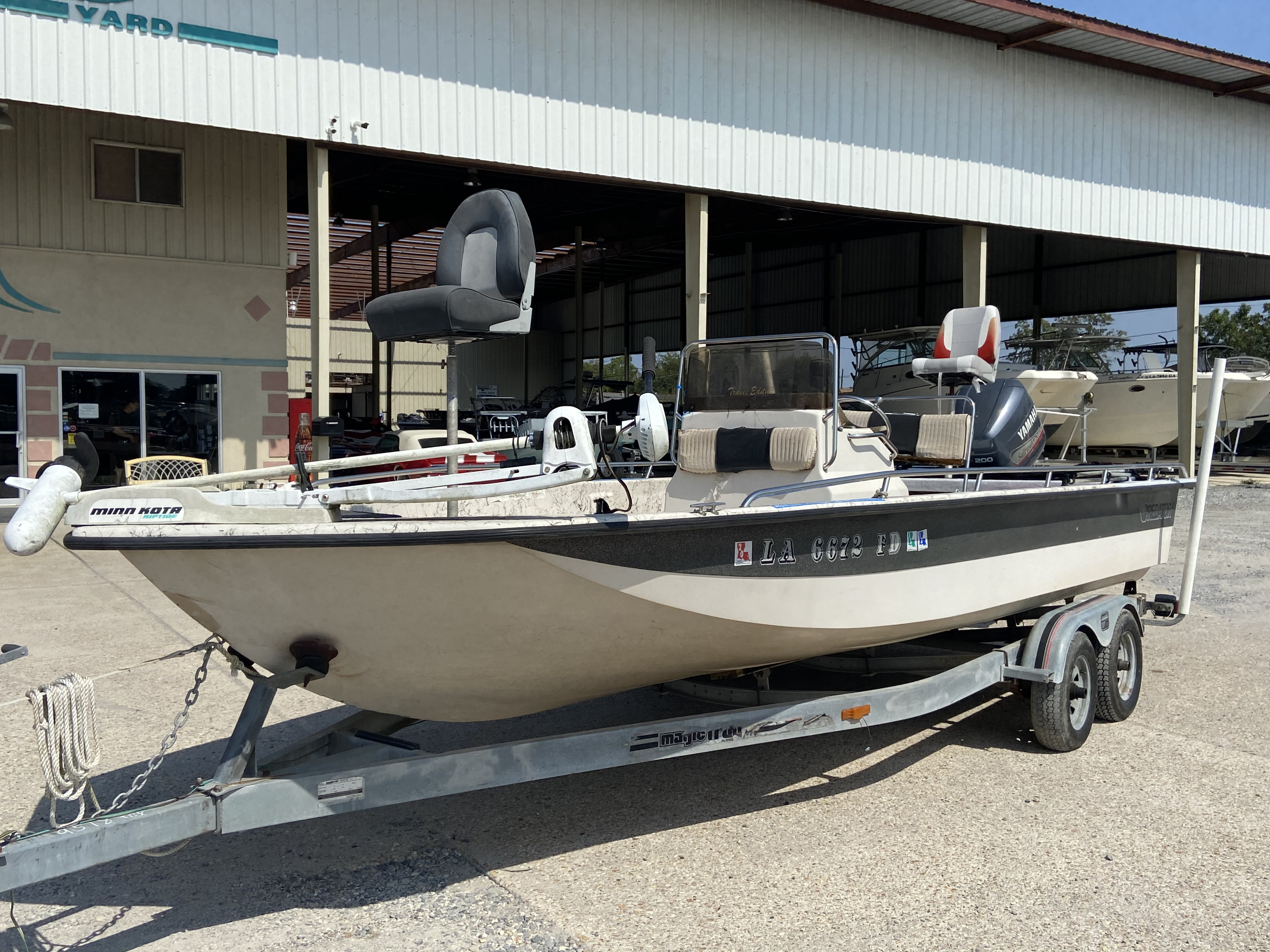 1999 Predator boat for sale, model of the boat is 22 CC & Image # 11 of 12