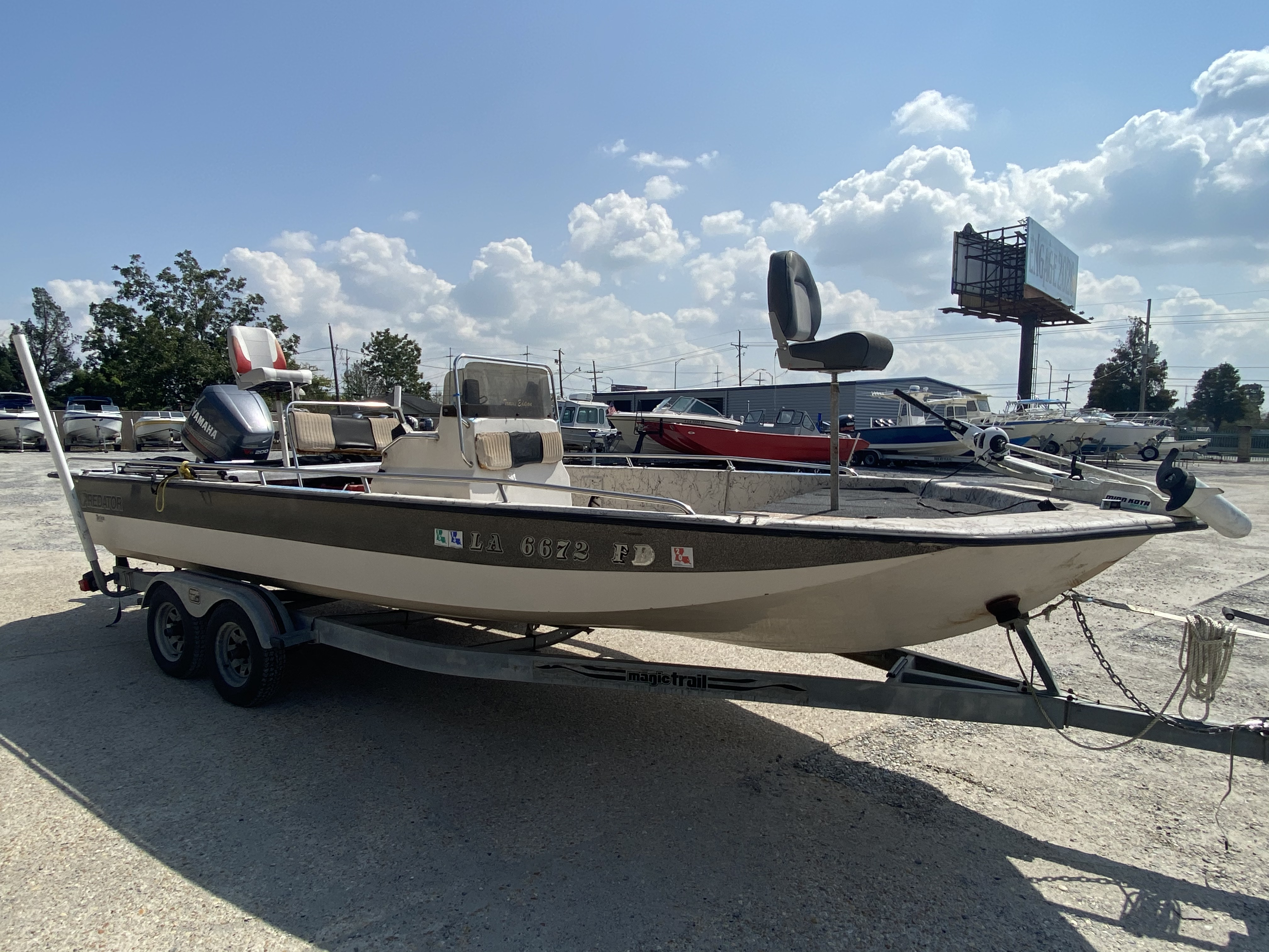 1999 Predator boat for sale, model of the boat is 22 CC & Image # 12 of 12