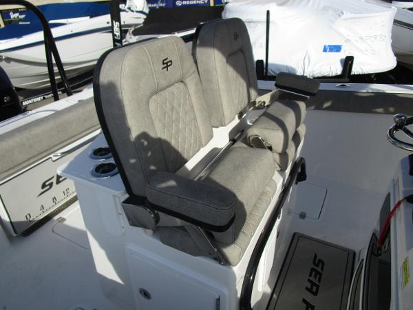 2021 Sea Pro boat for sale, model of the boat is 259 DLX & Image # 15 of 29