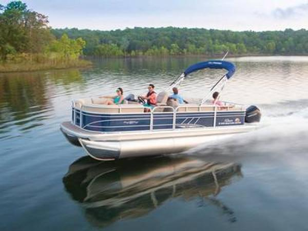 2020 Sun Tracker boat for sale, model of the boat is PARTY BARGE® 22 RF XP3 & Image # 1 of 1