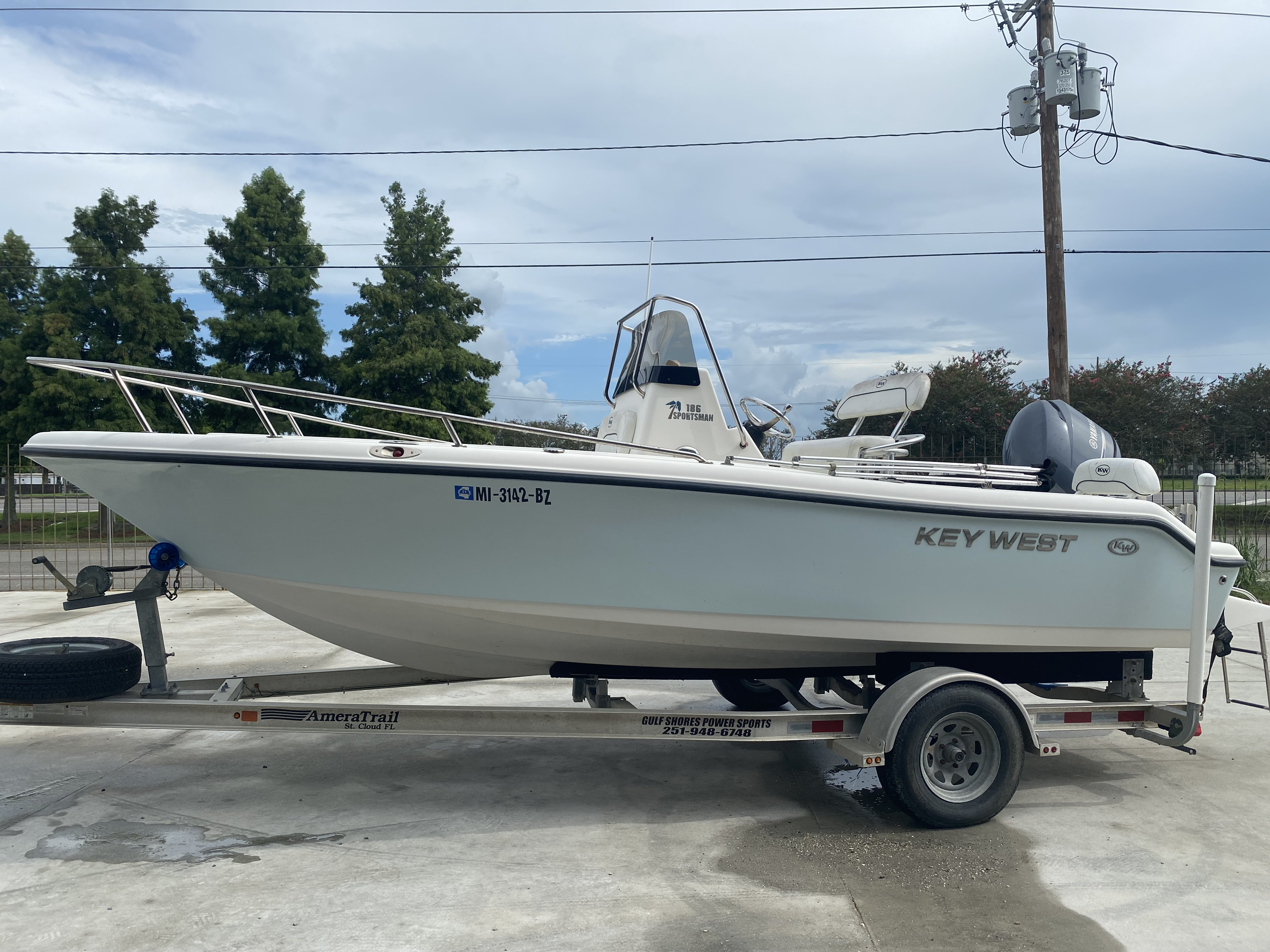 2013 Key West boat for sale, model of the boat is 186 Sportsman & Image # 5 of 12