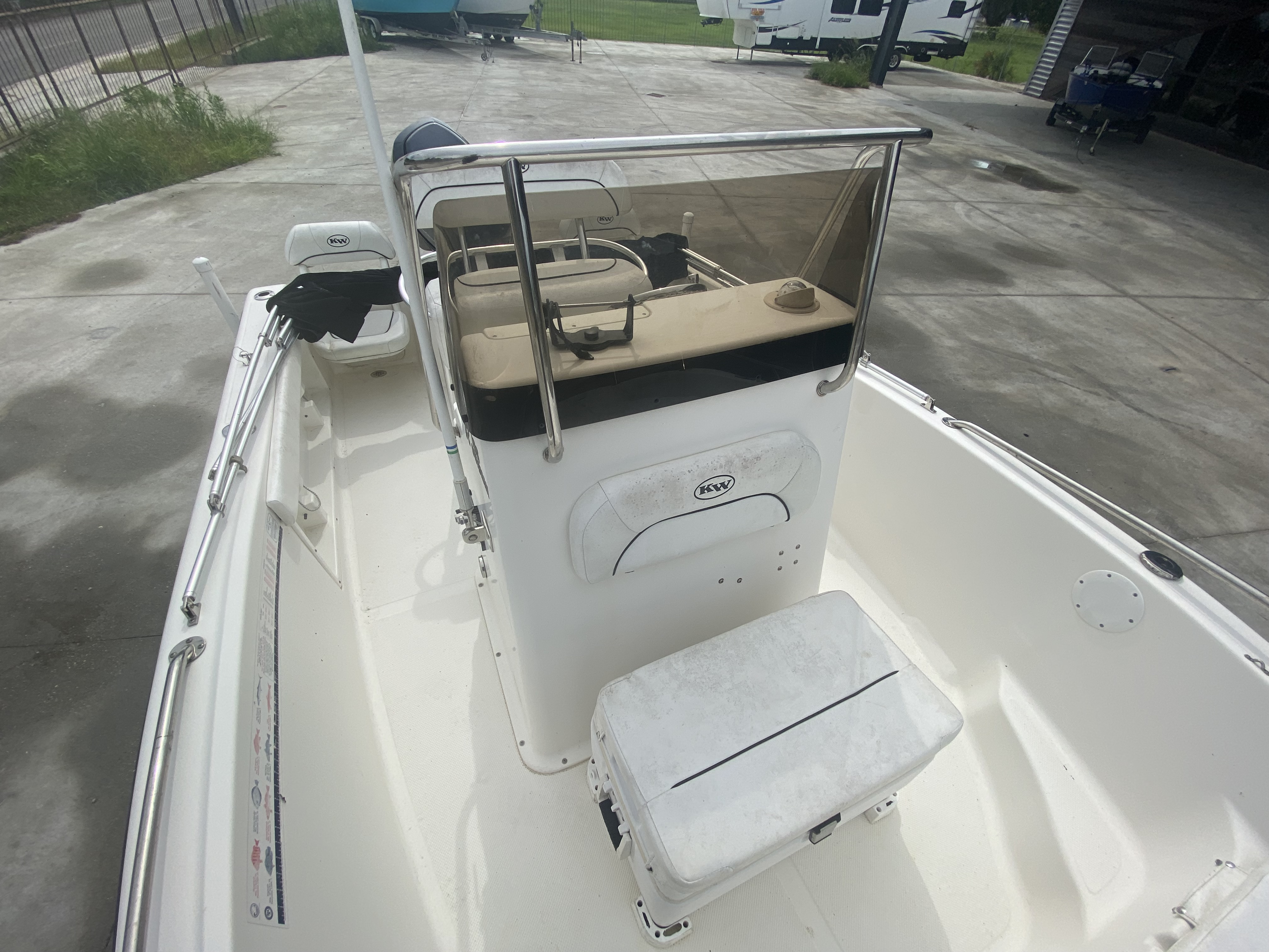 2013 Key West boat for sale, model of the boat is 186 Sportsman & Image # 6 of 12