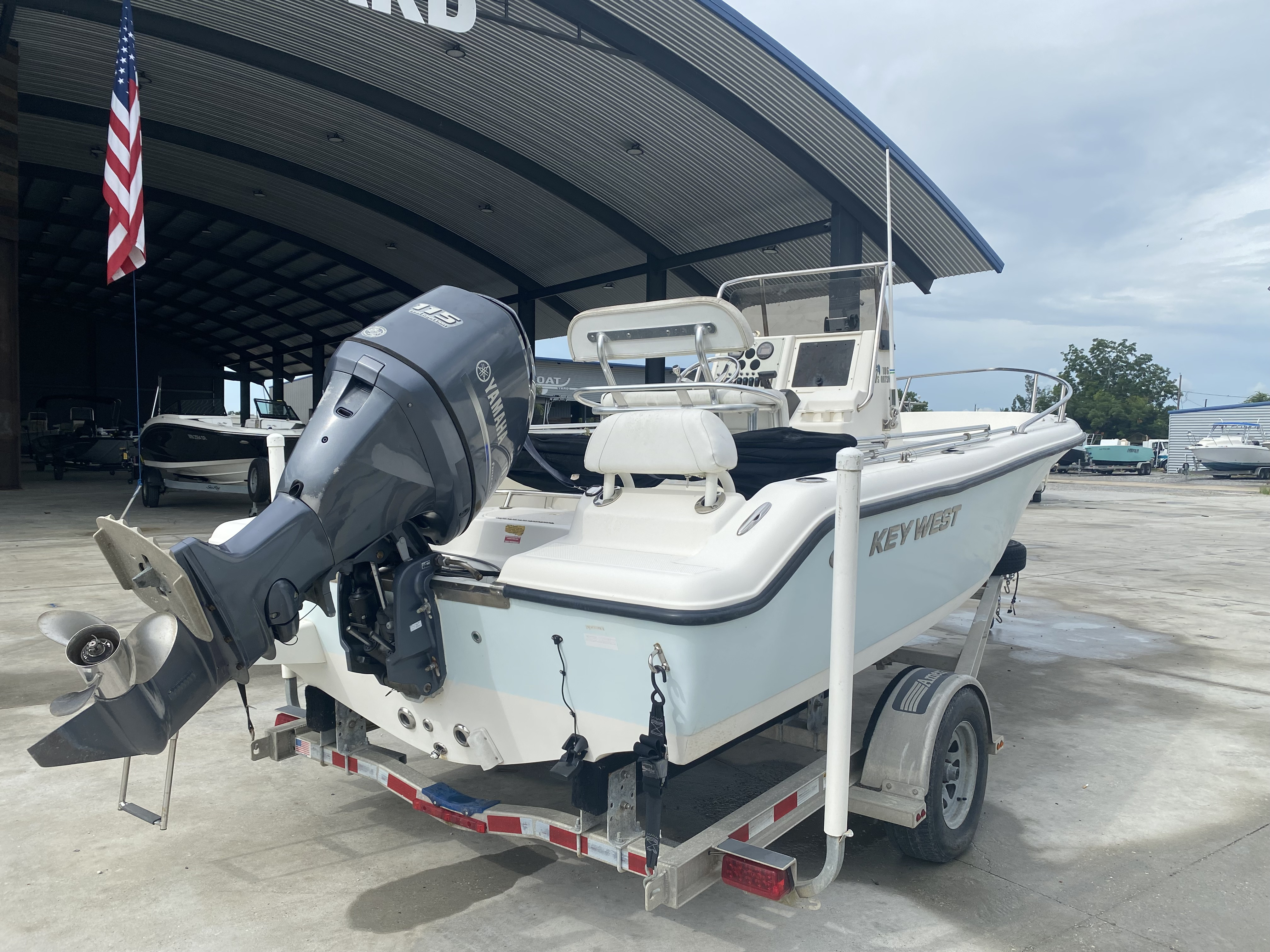 2013 Key West boat for sale, model of the boat is 186 Sportsman & Image # 11 of 12