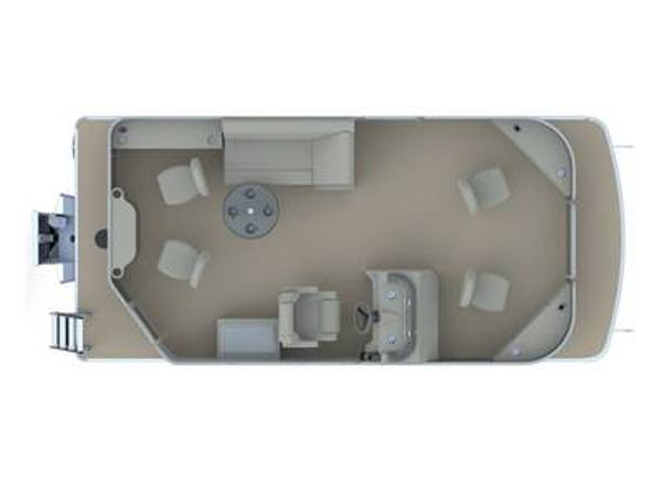 2021 Godfrey Pontoon boat for sale, model of the boat is SW 2086 FX & Image # 1 of 1