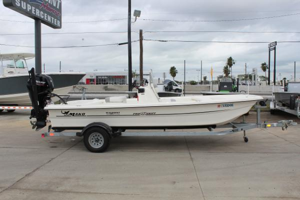 2020 Mako boat for sale, model of the boat is Pro Skiff 19 & Image # 4 of 15