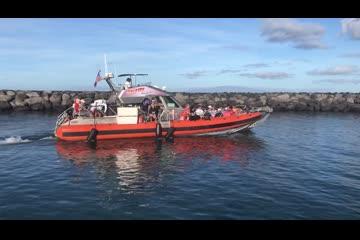 SAFE Boats 42 Flybridge video