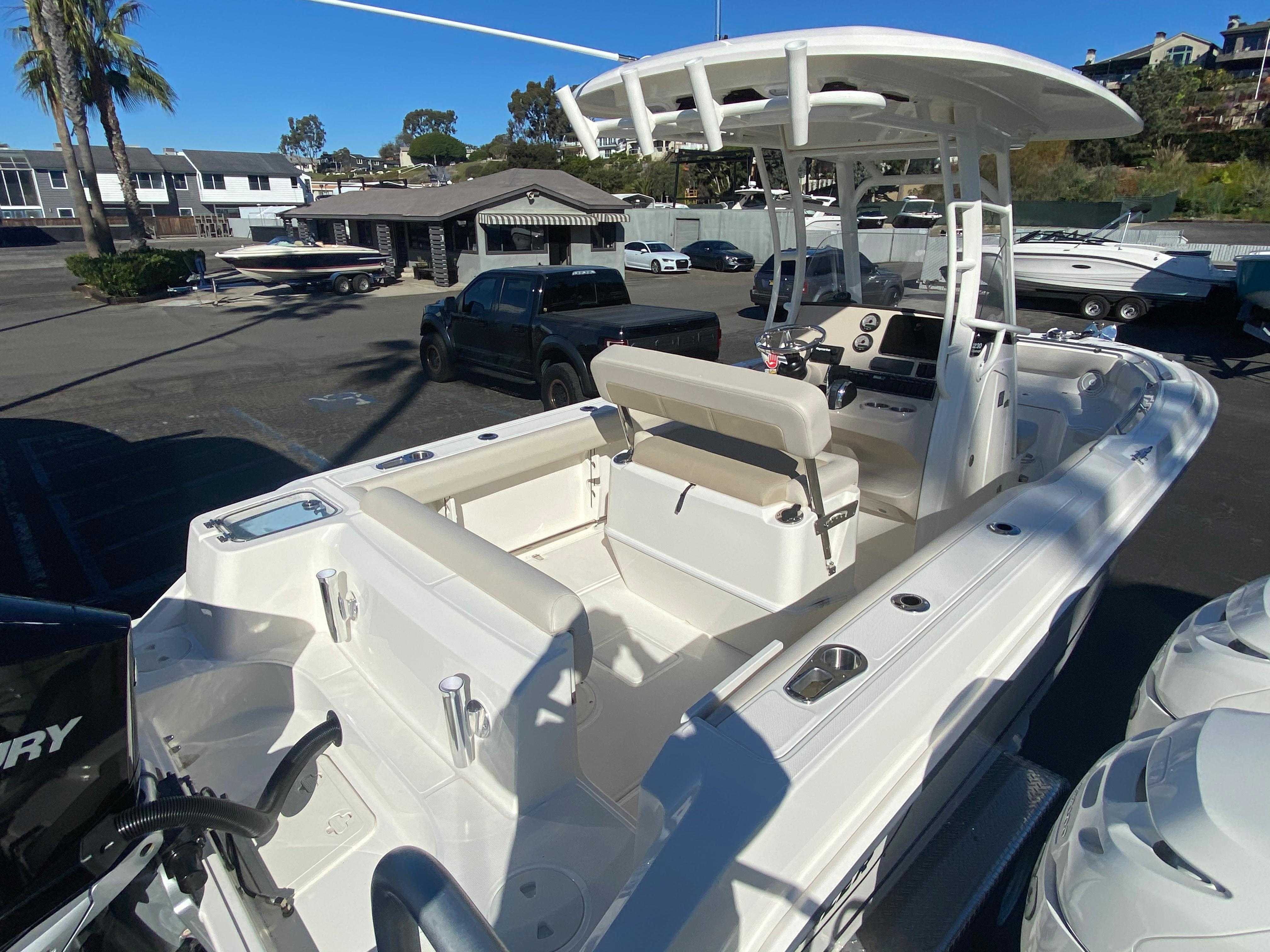2021 Boston Whaler 230 Outrage #BW0950J inventory image at Sun Country Coastal in Newport Beach