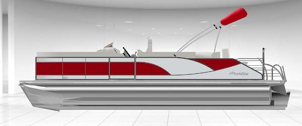 2021 Manitou boat for sale, model of the boat is 25 SES Bench SHP 575 & Image # 1 of 8
