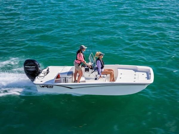 2020 Mako boat for sale, model of the boat is Pro Skiff 15 CC & Image # 1 of 1
