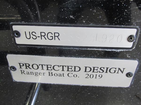 2020 Ranger Boats boat for sale, model of the boat is 622FS Pro & Image # 13 of 49