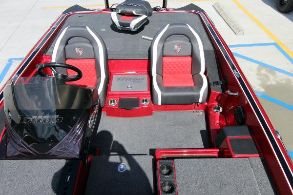 2020 Triton boat for sale, model of the boat is 20 TRX & Image # 17 of 64