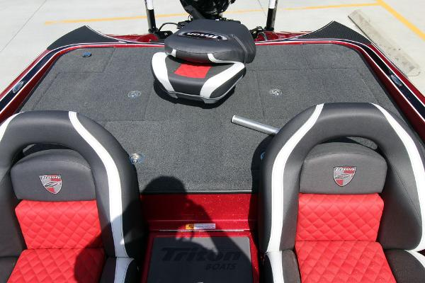 2020 Triton boat for sale, model of the boat is 20 TRX & Image # 28 of 64
