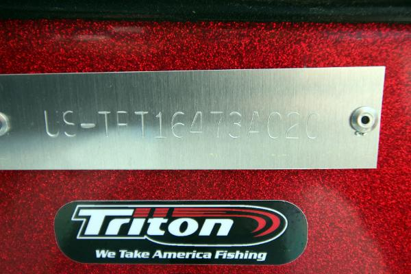 2020 Triton boat for sale, model of the boat is 20 TRX & Image # 64 of 64