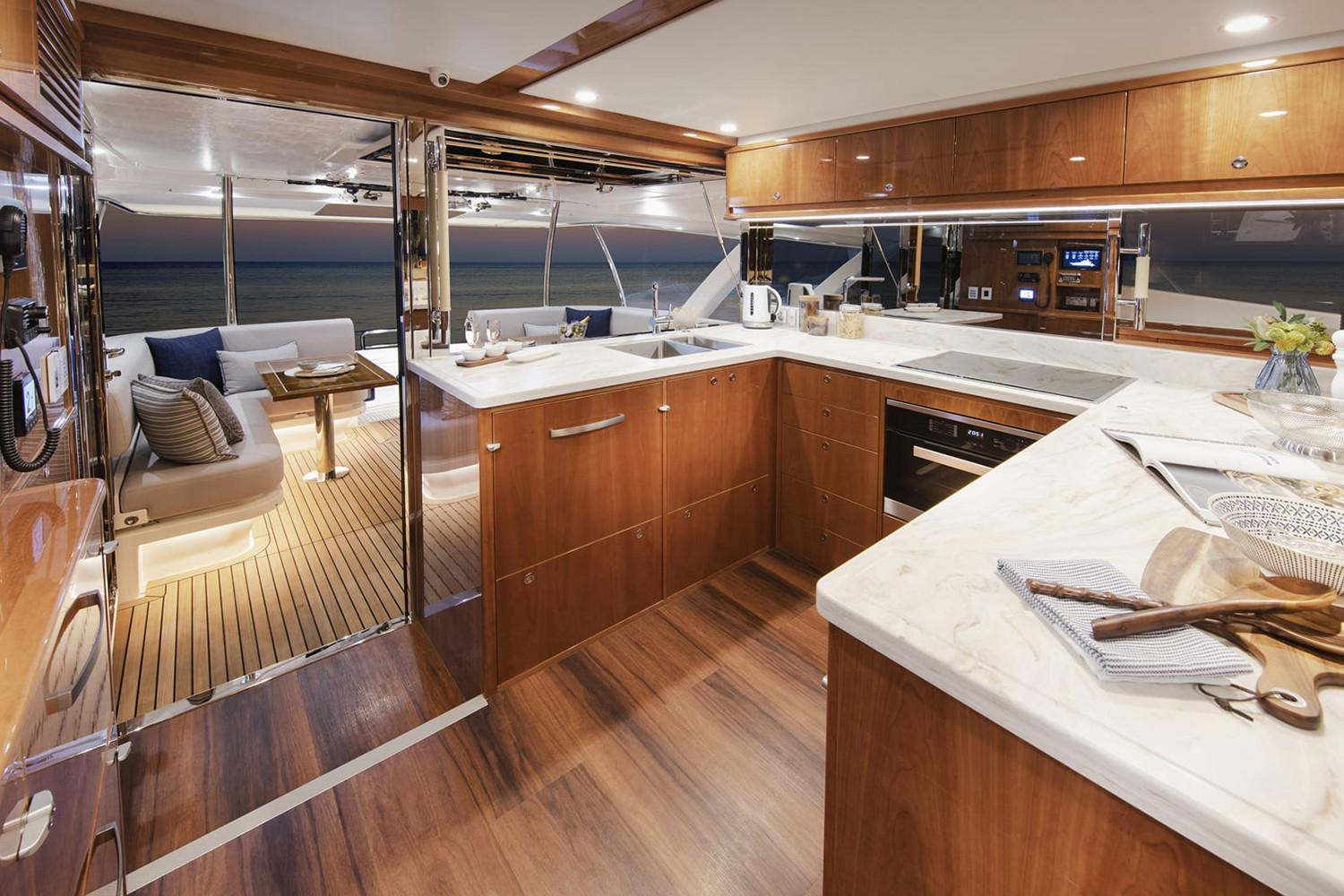 2021 Riviera 72 Sports Motor Yacht #R022 inventory image at Sun Country Coastal in Newport Beach