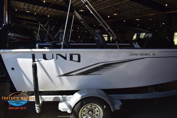 2021 Lund boat for sale, model of the boat is 1650 Rebel XL SS & Image # 28 of 30