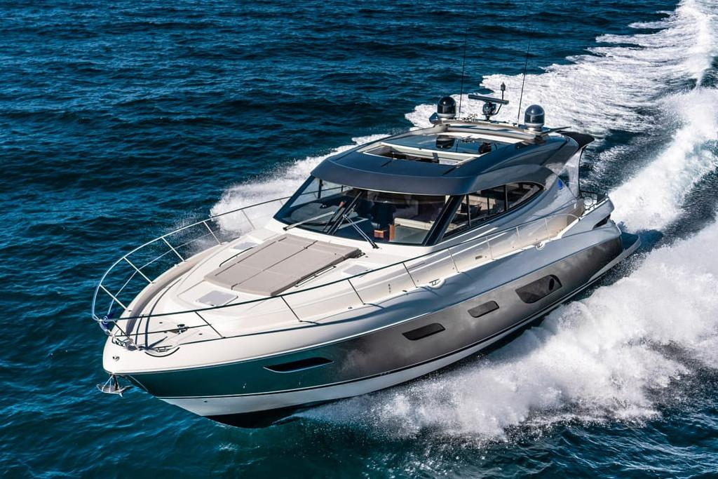 2021 Riviera 6000 Sport Yacht #R107 inventory image at Sun Country Coastal in Newport Beach