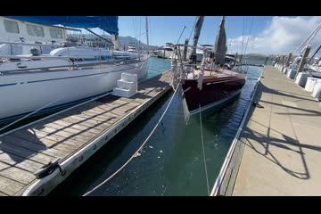 Sparkman & Stephens 45' Aluminum Sloop video