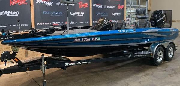 2012 Triton boat for sale, model of the boat is 20 XS Elite & Image # 10 of 11