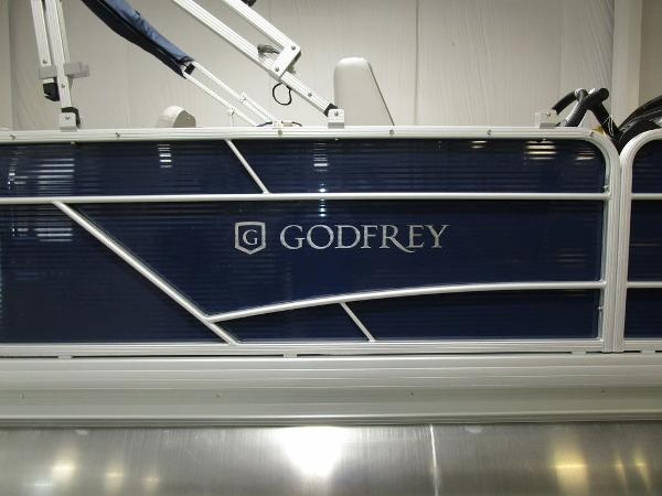 2021 Godfrey Pontoon boat for sale, model of the boat is SW 2086 FX & Image # 8 of 36